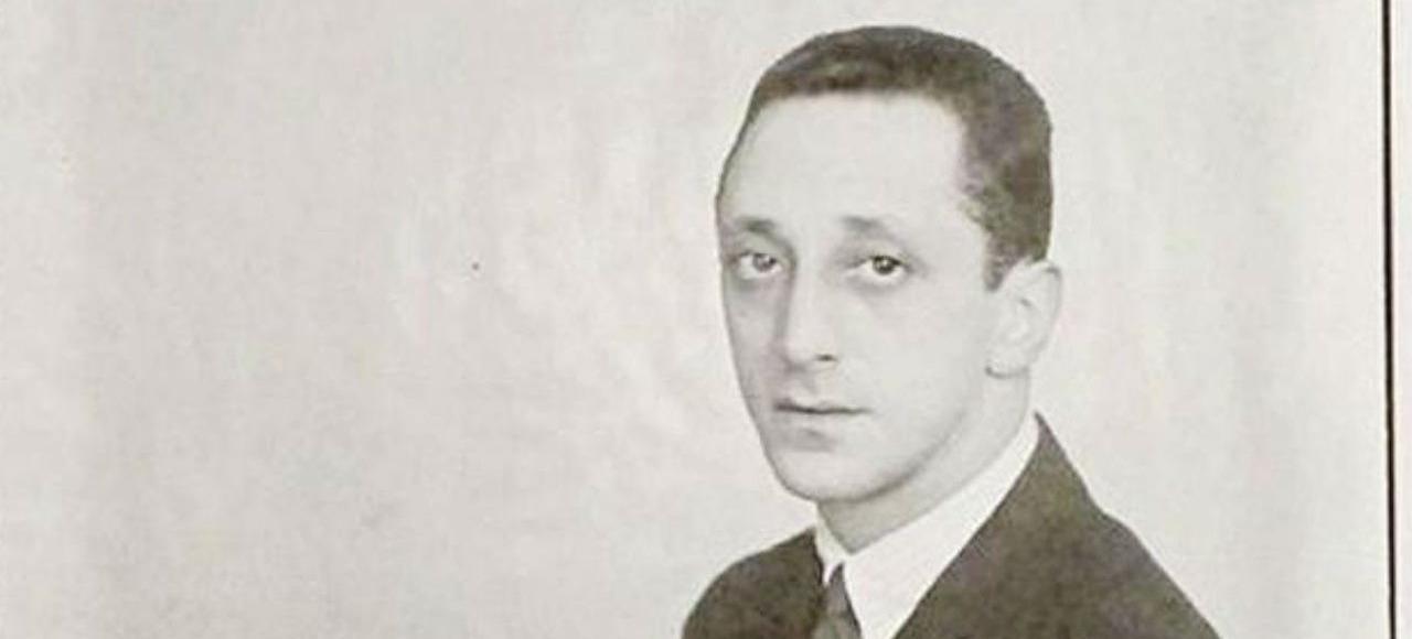 Jean-Michel Frank photographié par Man Ray, en 1924.