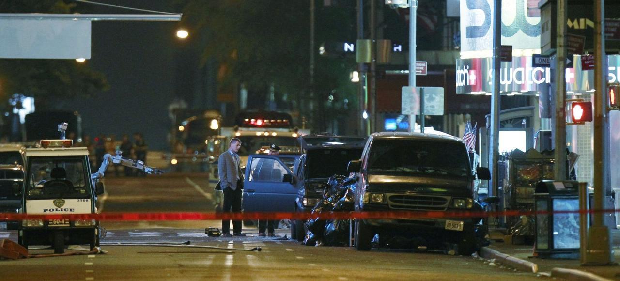 En 2010 une bombe placée dans une voiture garée près de Time Square n'avait pas explosé.