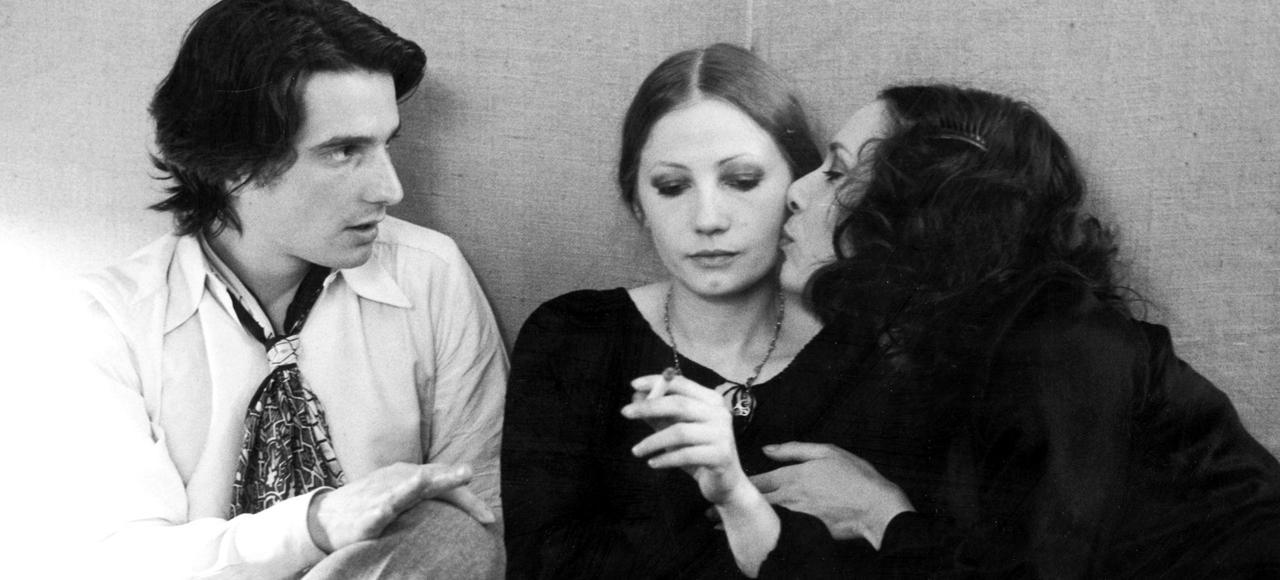 Jean-Pierre Léaud, Françoise Lebrun et Bernadette Lafont dans <i>La Maman et la Putain,</i> une éducation sentimentale qui marquera durablement les esprits de plusieurs générations.