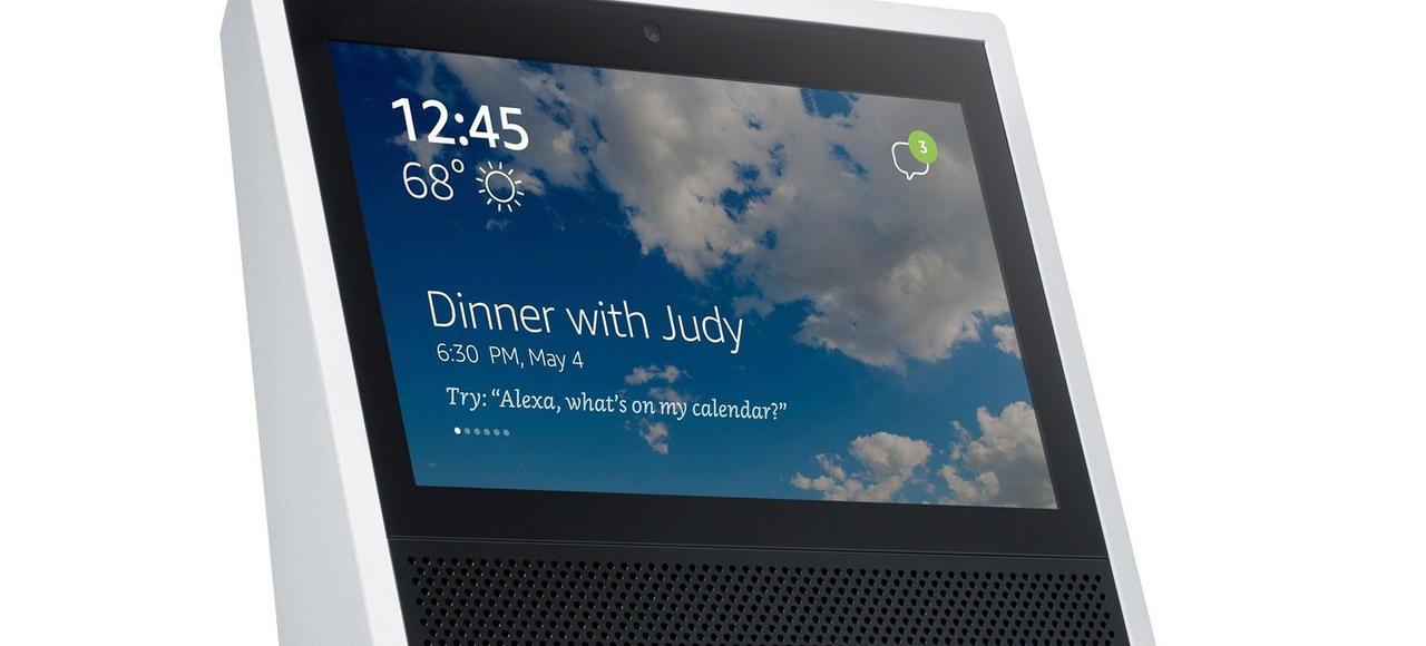 L'appareil d'Amazon dispose d'un écran tactile .