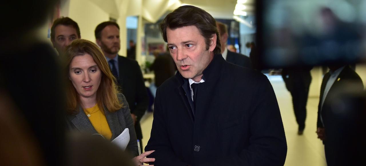 François Baroin, qui conduira la campagne de la droite aux législatives.