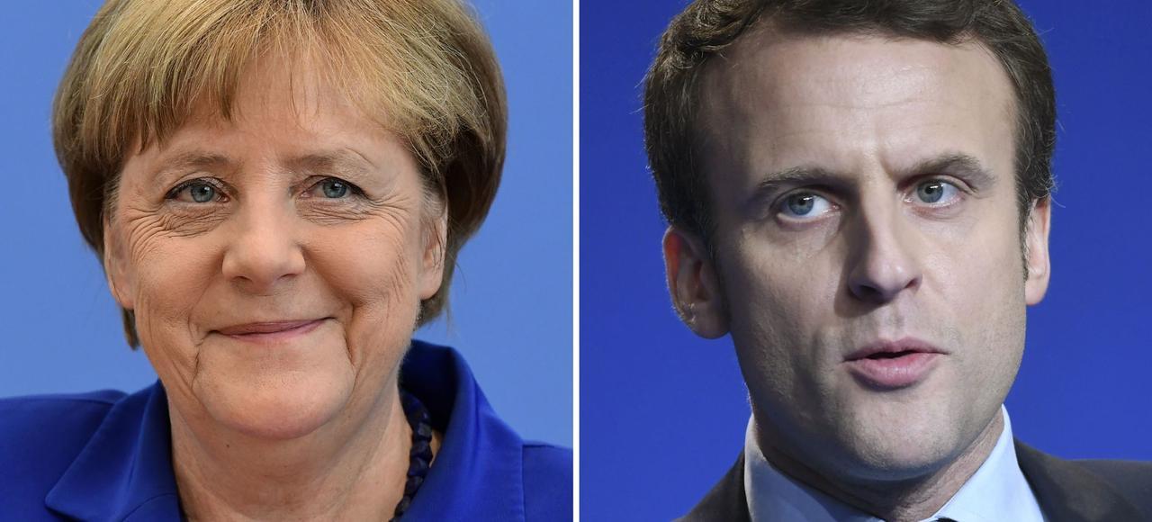 Emmanuel Macron sera reçu par Angela Merkel à Berlin, ce lundi.