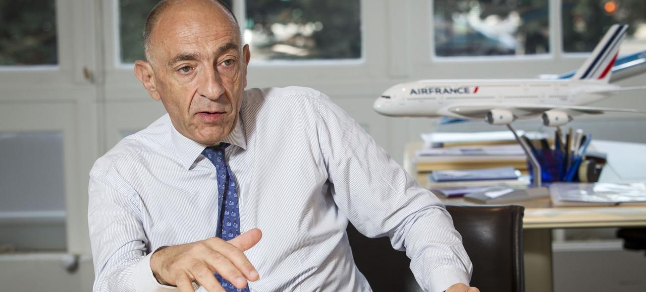 Jean-Marc Janaillac, PDG du groupe Air France-KLM.