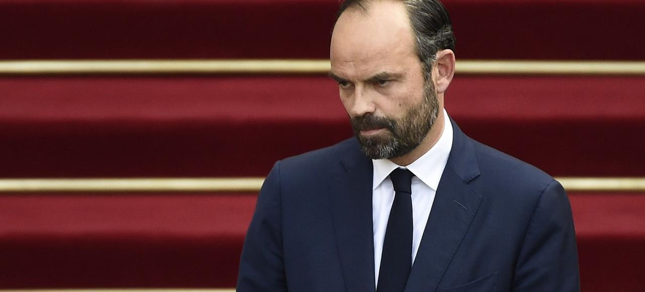 Le nouveau premier ministre Edouard Philippe.