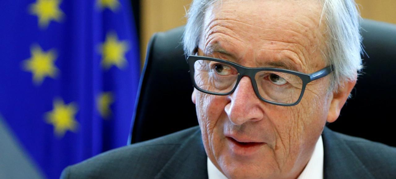La Commission européenne, présidée par Jean-Claude Juncker, a salué un«développement très positif»après la rencontre Macron-Merkel