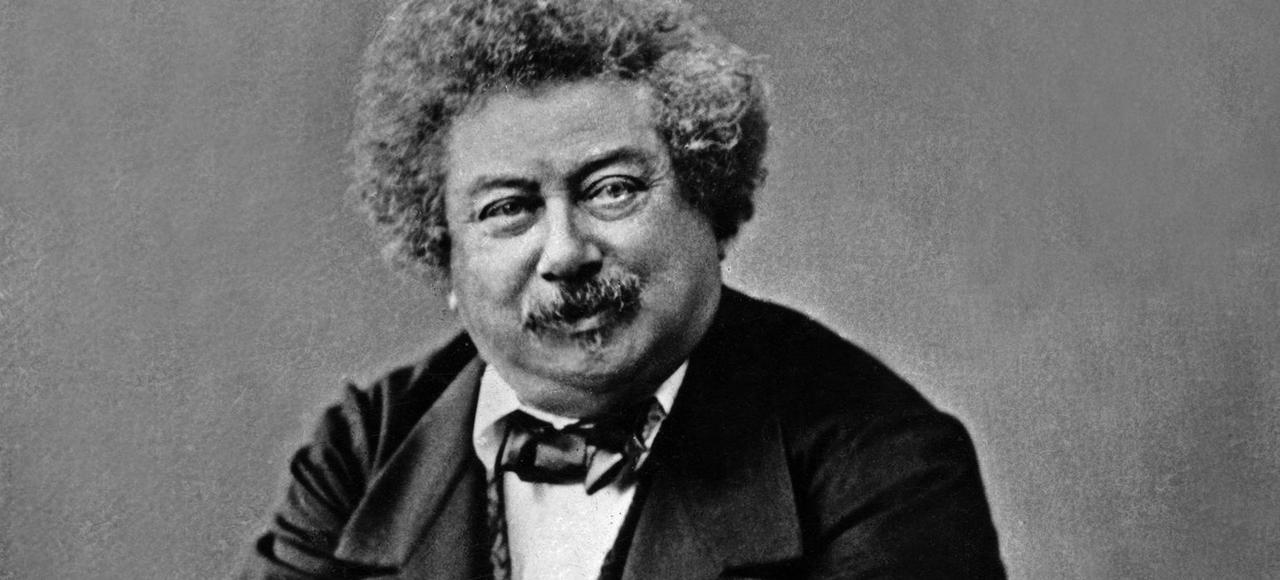 Alexandre Dumas père dans les années 1860.