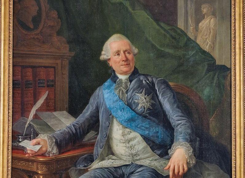 <i>Charles Gravier, comtede Vergennes</i>, par Antoine-François Callet.