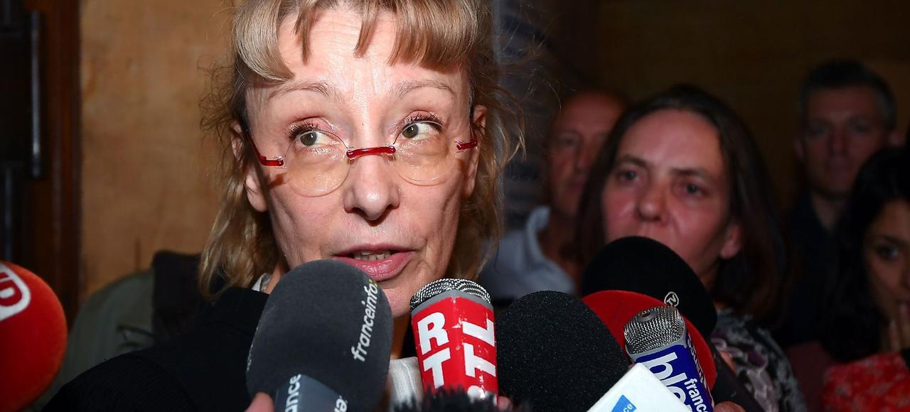 L'avocate de Francis Heaulme, Me Liliane Glock, le 17 mai, à la cour d'assises de Moselle.