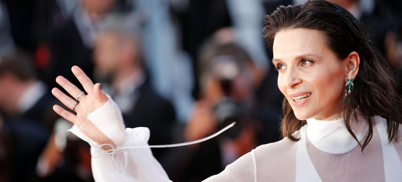 Juliette Binoche a été longuement applaudie pour sa prestation dans «Un beau soleil intérieur», un film de Claire Denis.