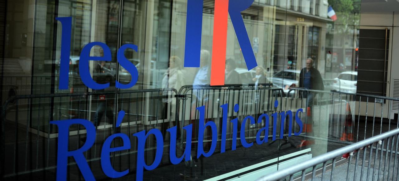 Le siège du parti Les Républicains à Paris.