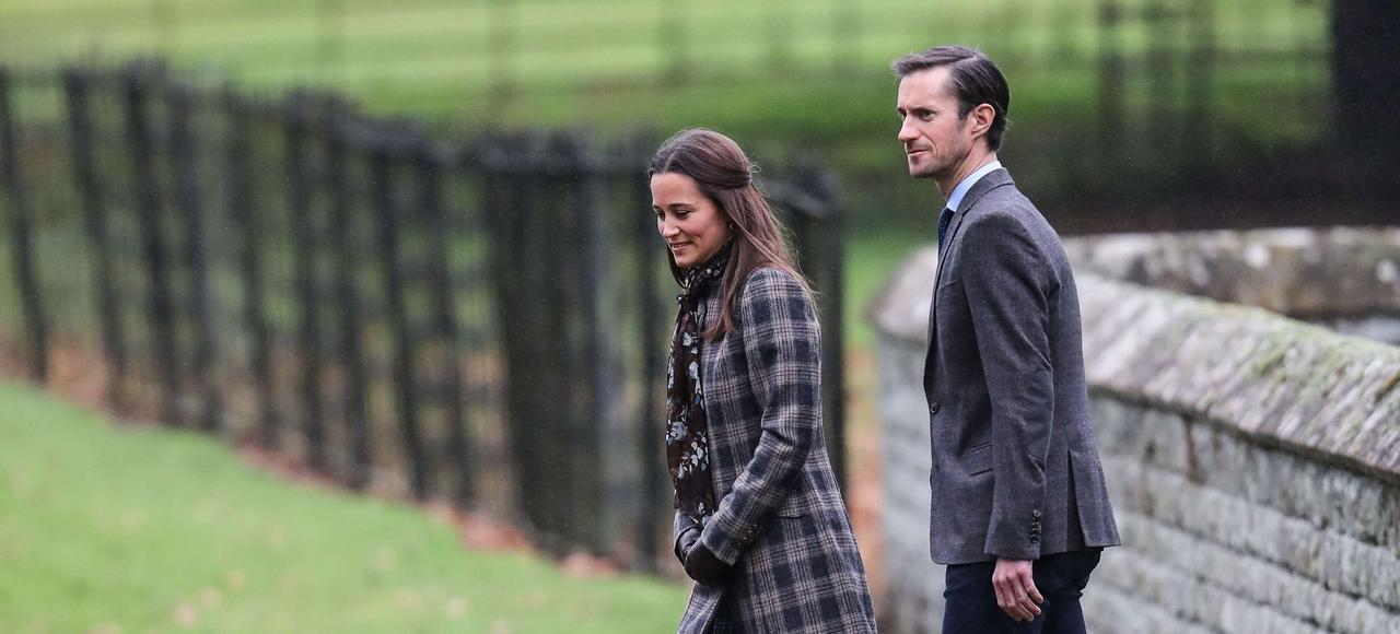 Pipa Middleton et James Matthews
