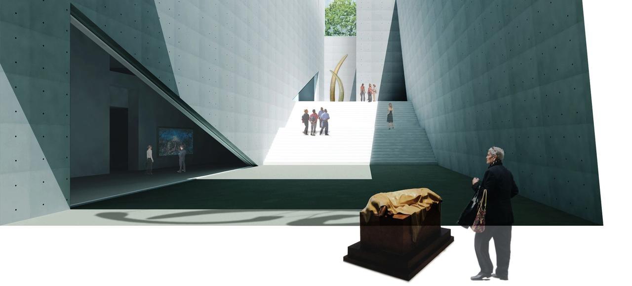 L'ouverture du Genesis Museum du Japonais Tadao Ando est prévu en 2018 à Pékin.