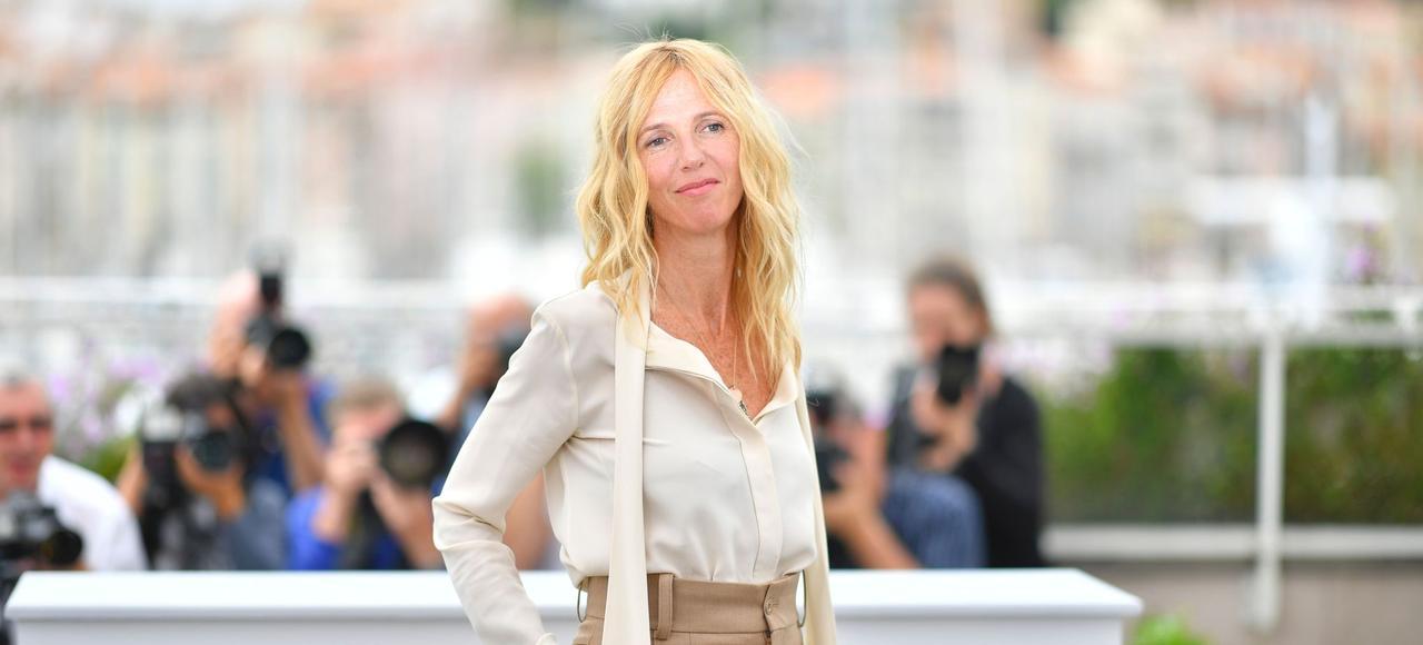Sandrine Kiberlain, jeudi, à Cannes. L'actrice a été choisie par Thierry Frémaux pour présider le jury de la Caméra d'or.