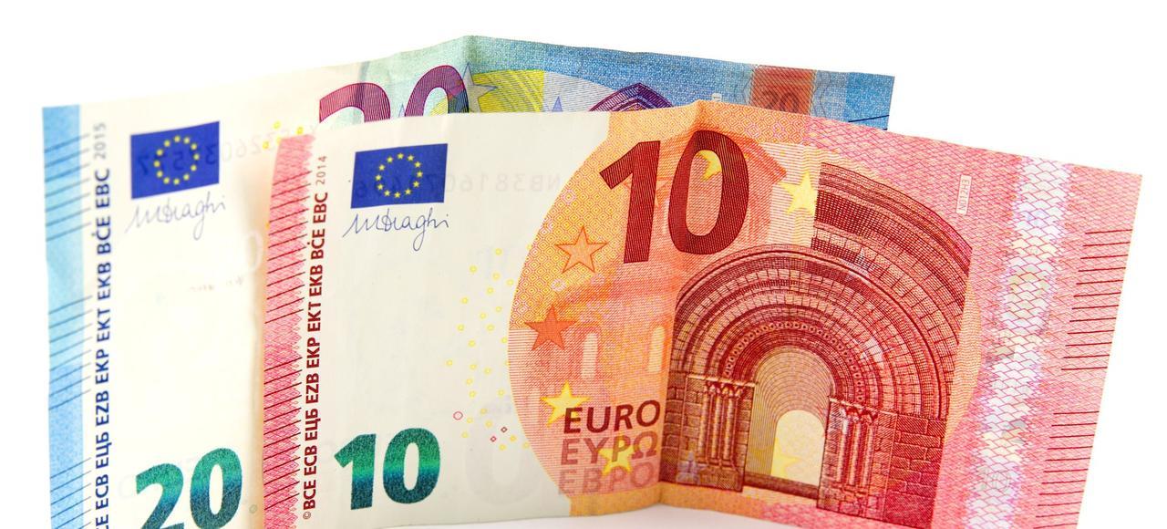 Coupures de 10 et 20 euros.