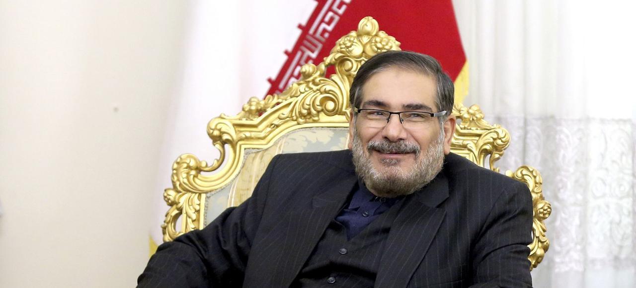 Ali Shamkhani.
