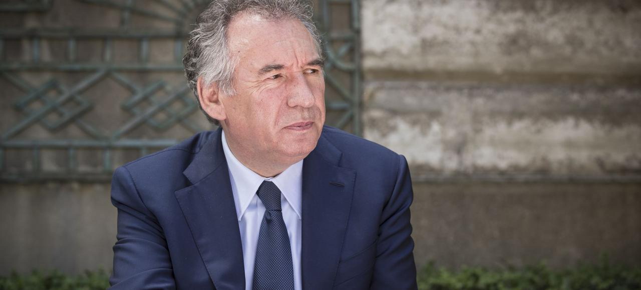 François Bayrou, ministre de la Justice.
