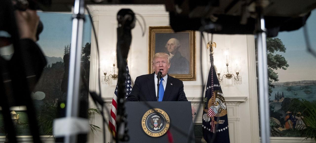 Donald Trump, mercredi à Washington.