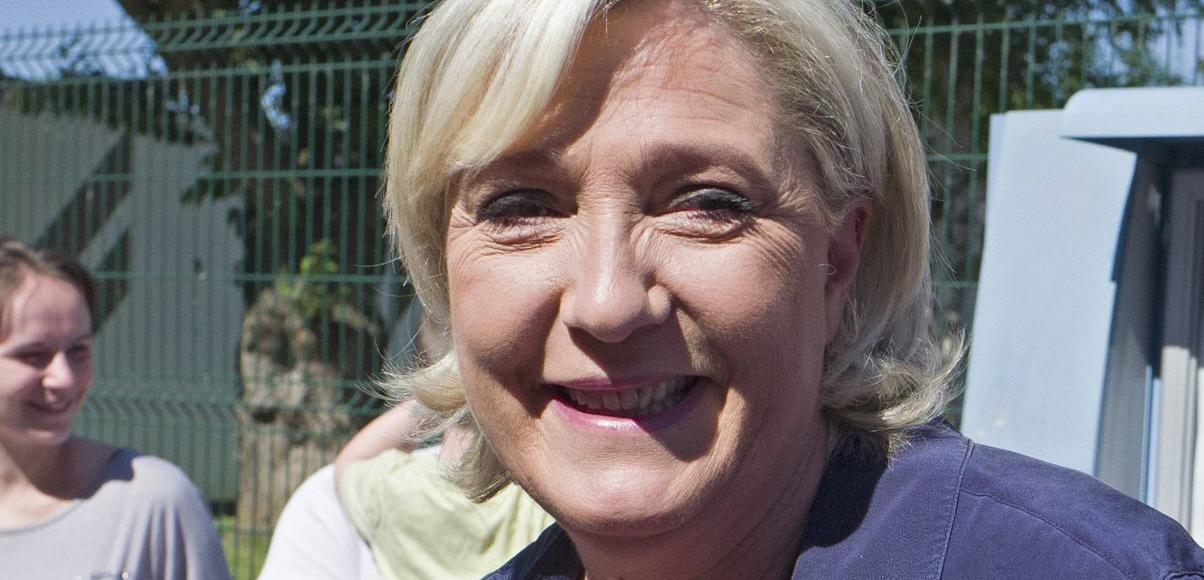 Marine Le Pen, le 11 juin à Hénin-Beaumont