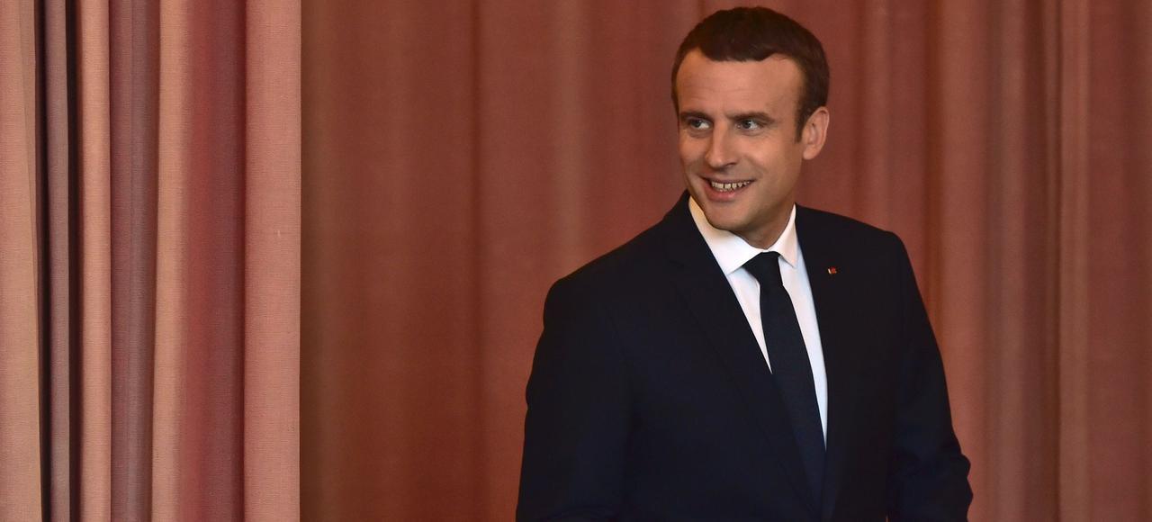 Emmanuel Macron au Touquet le 18 juin.