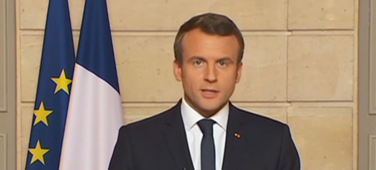 Le 1er juin, Emmanuel Macron réagit à l'annonce de Donald Trump: «Make our planet great again».