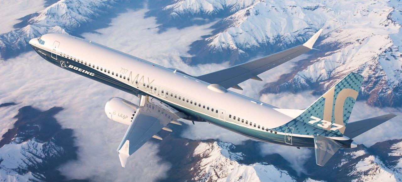 Le 737 Max 10 (vue d'artiste), qui a engrangé une quarantaine de commandes lundi, aété lancé par Boeing pour concurrencer l'A321neo d'Airbus.