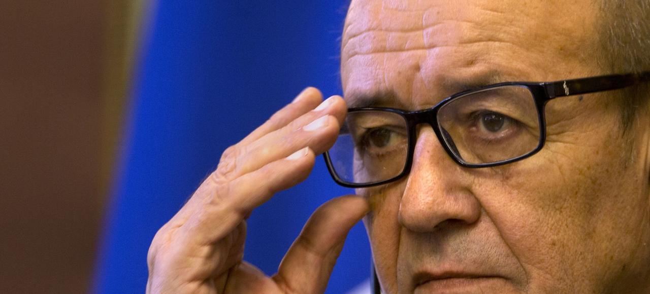 Le ministre des Affaires étrangères Jean-Yves Le Drian va s'entretenir avec son homologue russe, Sergueï Lavrov, mardi.