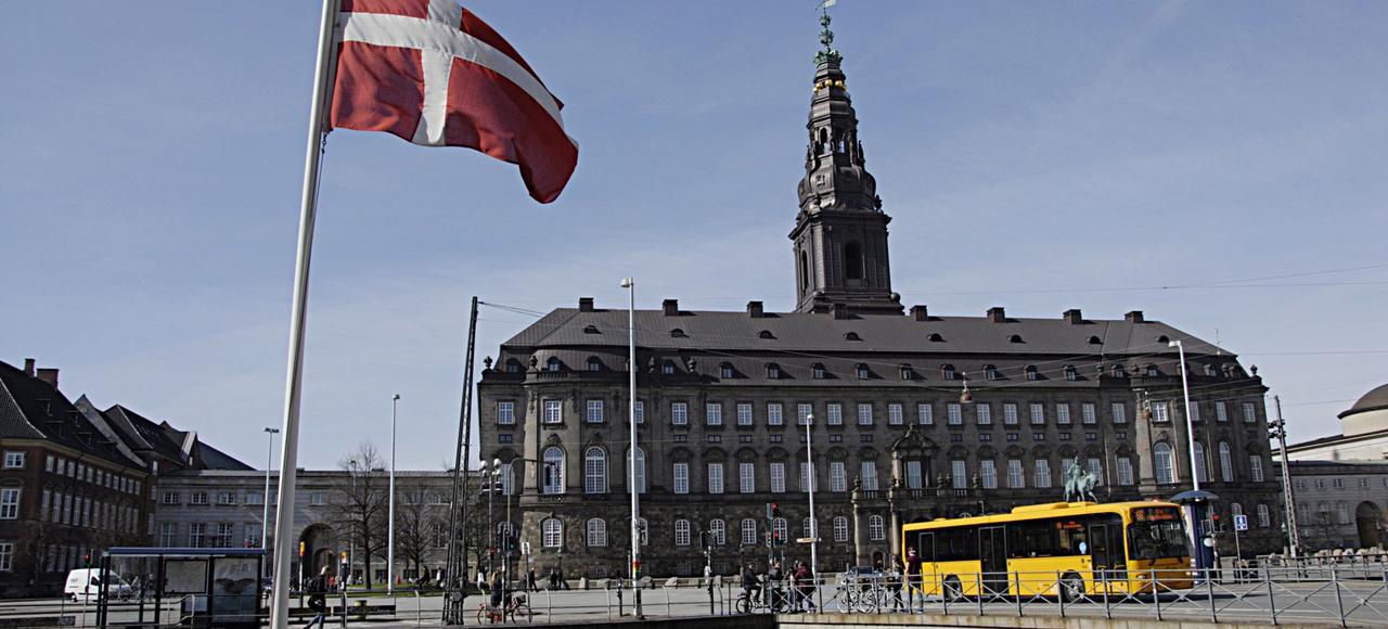 Le Parlement Danois, à Copenhague.
