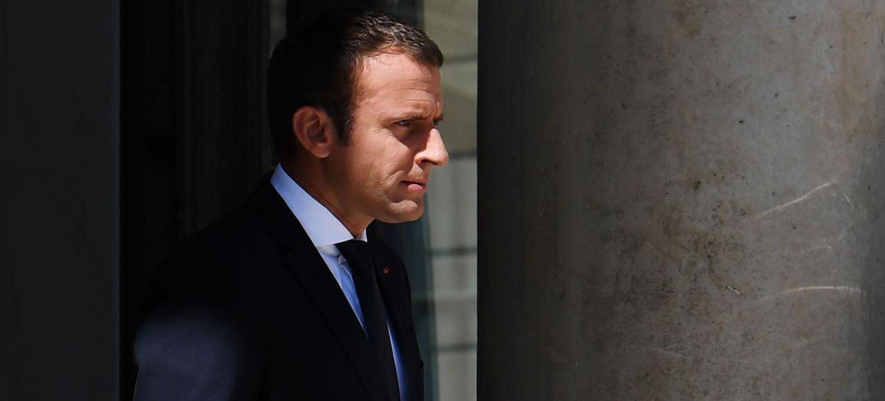 Ce que nous avons à conduire ensemble, c'est une révolution en profondeur de nos modèles: nos modèles de pensée, nos organisations économiques et sociales, nos façons de nous comporter», a déclaré Emmanuel Macron .