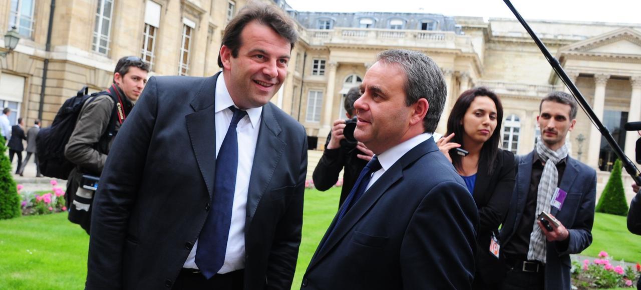 Thierry Solère et Xavier Bertrand