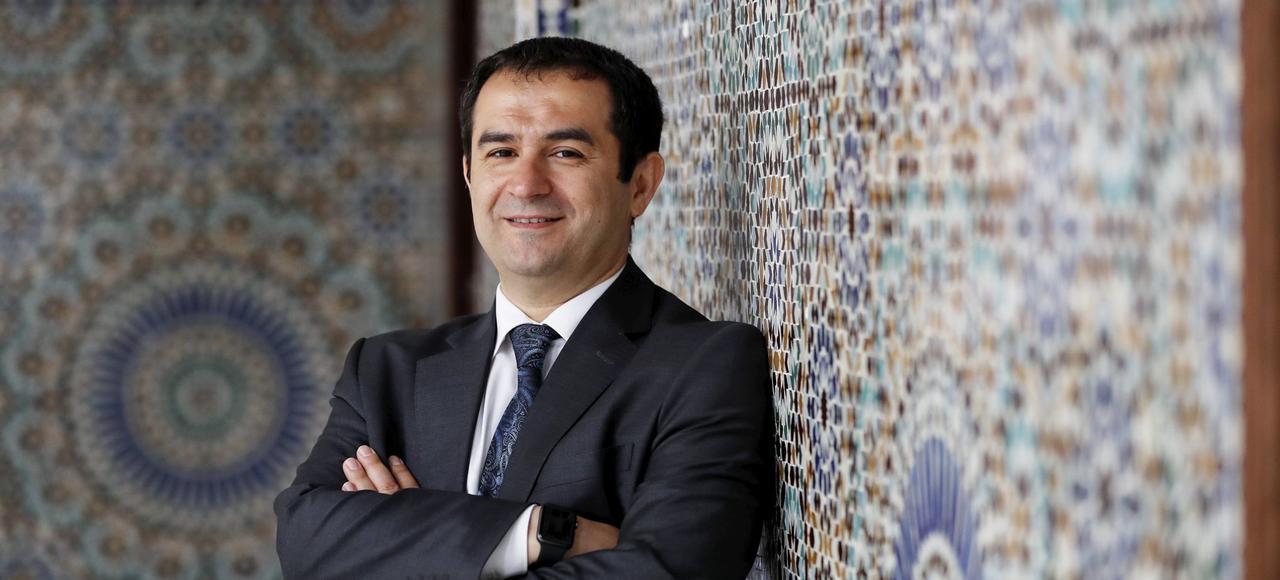 Ahmet Ogras, le nouveau président du CFCM.