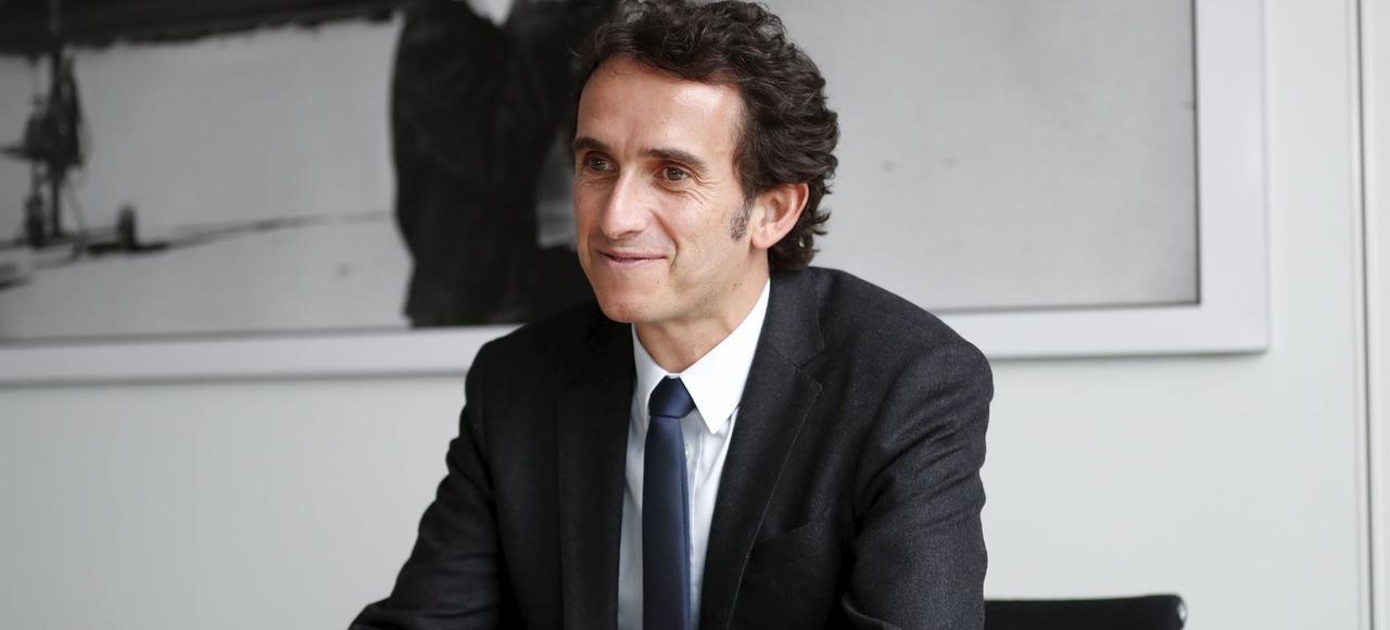 Alexandre Bompard, alors PDG de la Fnac, en février 2017 au siège du groupe, à Ivry-sur-Seine.