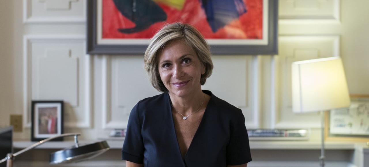 Valérie Pécresse, présidente LR de la région Île-de-France.