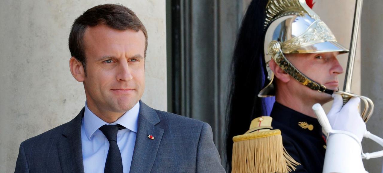 Emmanuel Macron, le 6 juin à l'Elysée.