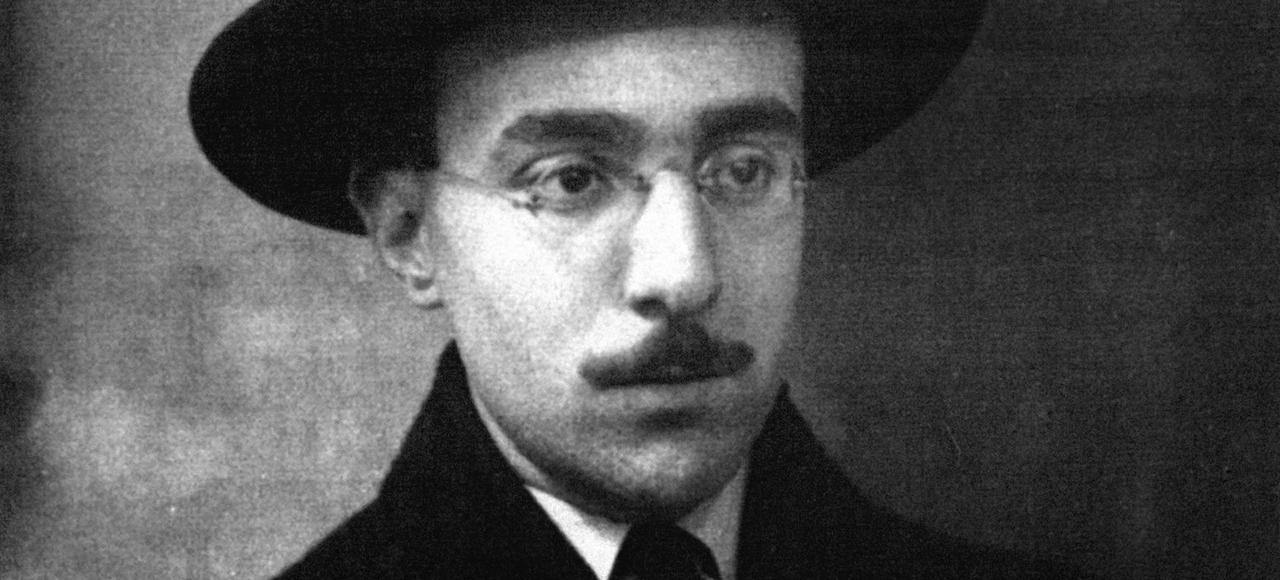 Fernando Pessoa à l'âge de 26 ans, en 1914.
