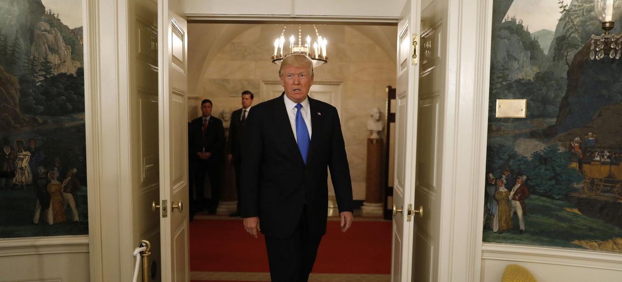 Donald Trump a lancé la renégociation de l'accord de libre-échange nord-américain (Aléna) qu'il accuse de détruire les emplois.