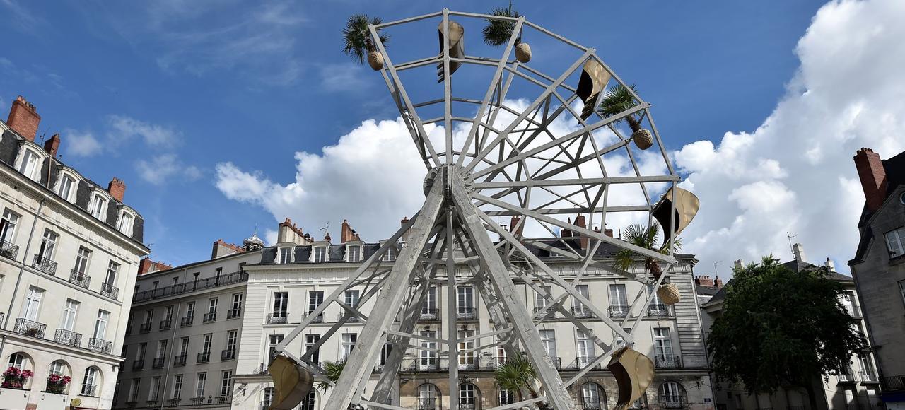 «La part manquante», de Boris Chouvellon, place du Bouffay à Nantes.