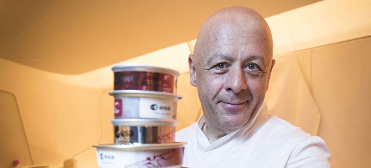 Thierry marx le cuisinier de l 39 espace for Cuisinier marx