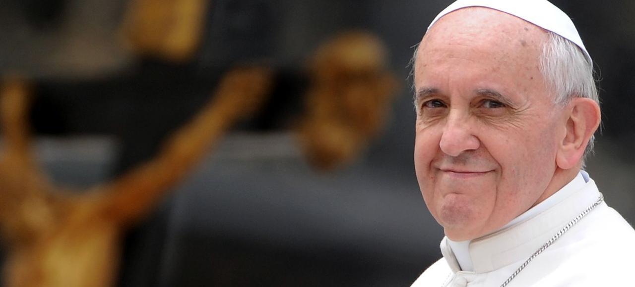 Le pape François, place Saint-Pierre, le 1er mai 2013.