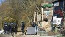 Opération d'évacuation en cours des opposants au projet Cigéo à Bure