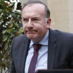 Le patron du Medef, Pierre Gattaz