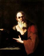 Socrate par Luca Giordano (1634-1705).