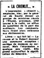Le Figaro du 20 mai 1968.