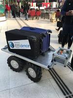 Le robot développé par Effidence est inspiré des modèles déjà utilisés dans les entrepôts.
