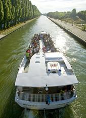 Escapade sur le canal de l'Ourcq.