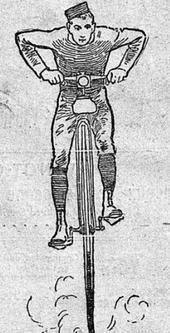 Ilustration parue dans <i>Le Figaro</i> du 13 juin 1885.