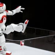 Un robot au service des pensionnaires d'une maison de retraite en France