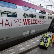 Sécurité : les premiers portiques pour les Thalys entrent en gare