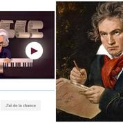 Google imagine un jeu pour le 245e anniversaire de Beethoven