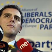 En pleine ascension, Ciudadanos, le parti centriste, se voit en faiseur de roi