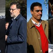 Espagne: une partie politique qui se joue à quatre